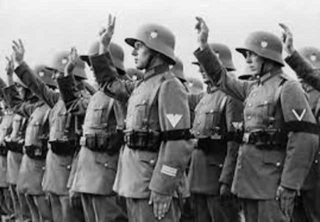 Hitler Gains Support of German Army