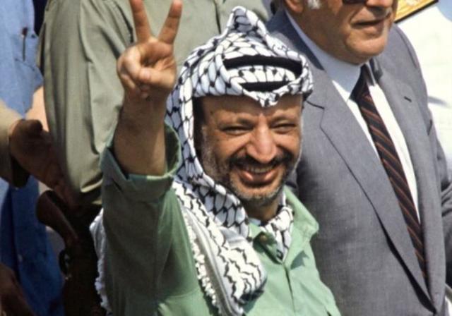 Mort de Yasser Arafat