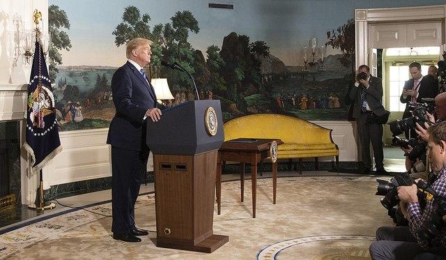 Retrait des USA du JCPOA