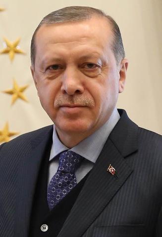 Recep Tayyip Erdoğan, président turc