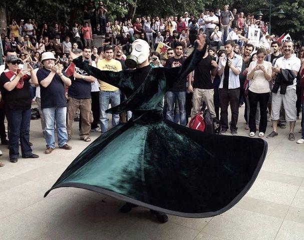 Les manifestations du parc Taksim Gezi