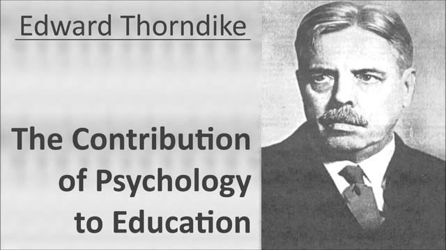 Contribuciones de Thorndike a la educación