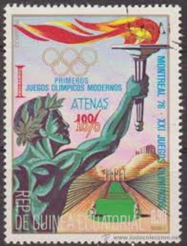 primer juegos olímpicos en Atenas