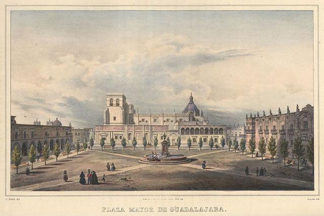 Inauguración de la Real Universidad de Guadalajara