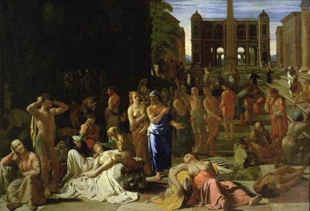 430 B,C Athenian Plague