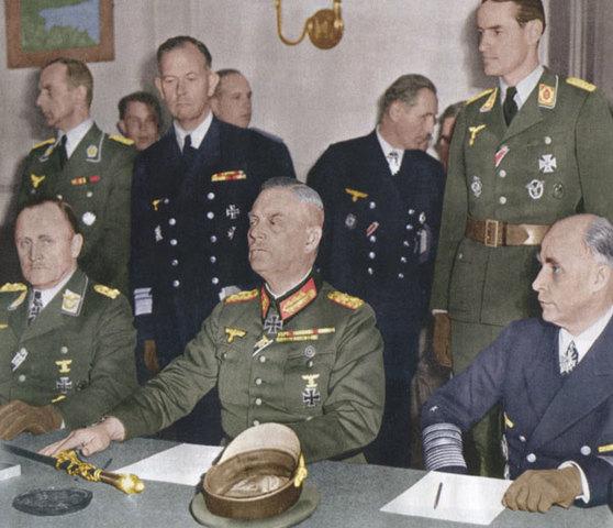 Capitulation de l'Allemagne nazie