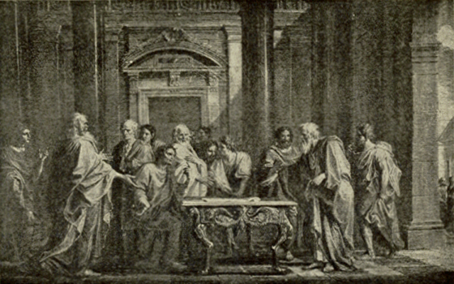 Solon appointed leader and begins reforns (Athens) 594 B.C