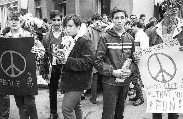Mouvements sociaux de 1968 dans le monde et particulièrement aux Etats-UNis