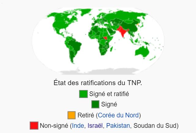 Traité sur la non-prolifération des armes nucléaires