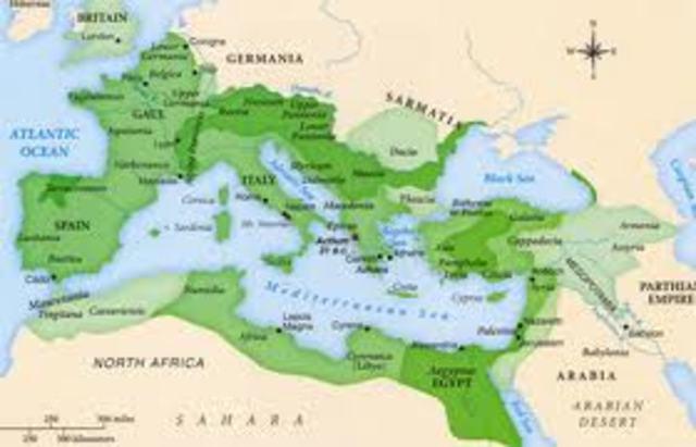 27 B.C Pax Romana begins
