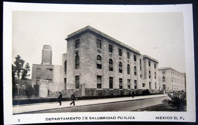 Fundación del  Departamento de Salubridad Pública (1917-1920)