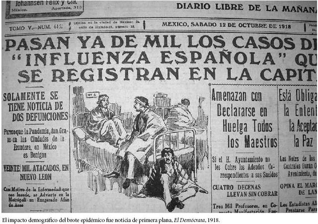 Influenza complica el panorama sanitario (1920)