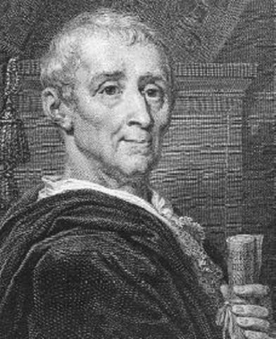 Muere Montesquieu