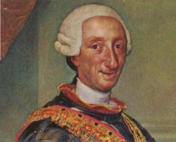 Carlos III sube al trono