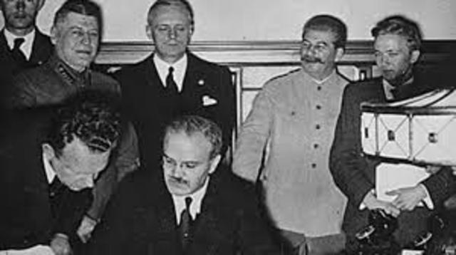 il patto Molotov-Ribbentrop e il patto d'Acciaio