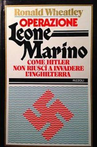 """la battaglia d'Inghilterra/ operazione """"Leone Marino"""""""