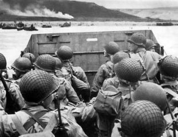 la liberazione da parte degli Alleati...