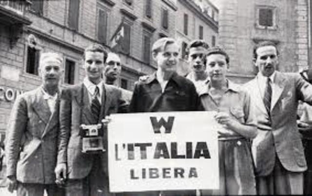 La Liberazione d'Italia
