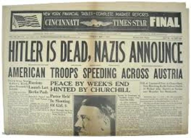 Le sorti di Hitler e della Germania