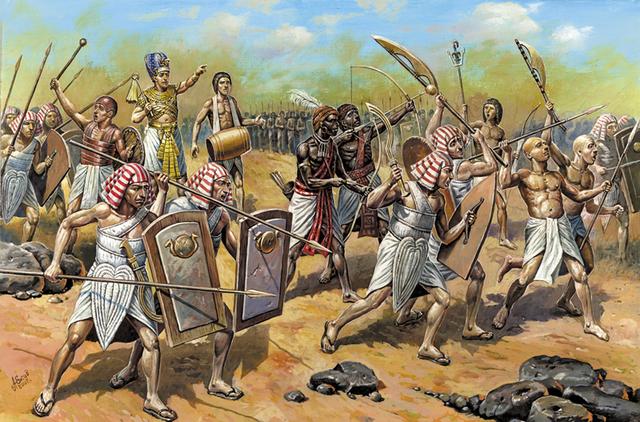 Los persas conquistan Egipto.