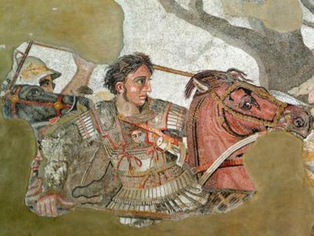 Alejandro Magno conquista Egipto.