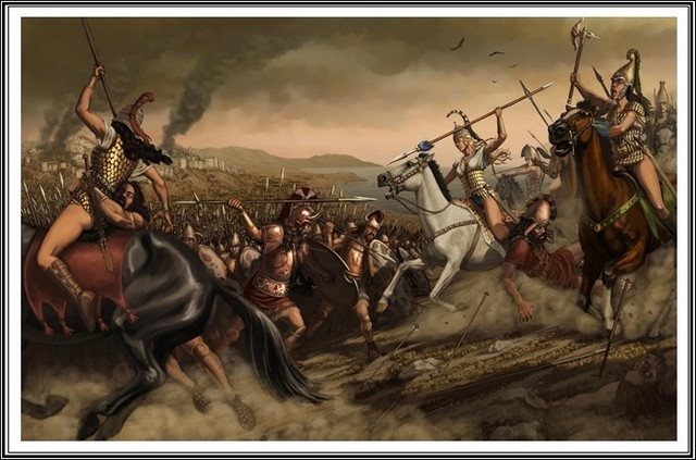 Caída de Troya y Micenas.