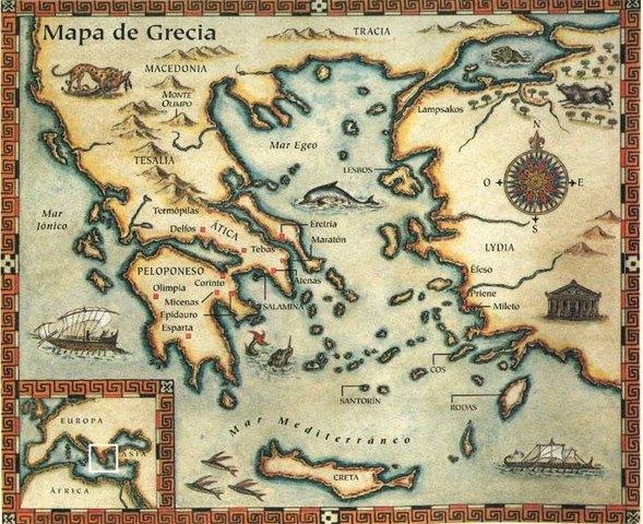 Surgimiento de la civilización Griega.