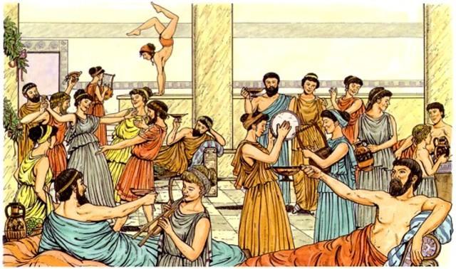Oligarquías integradas por nobles griegos.