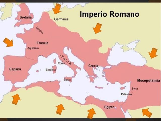 Anexo total de Grecia al imperio romano.