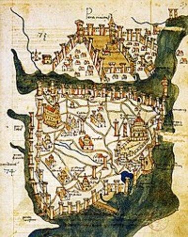 Fundación de Constantinopla.