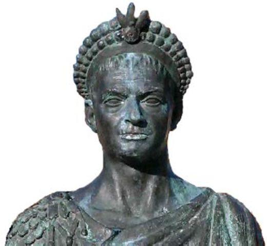 Teodosio declara el cristianismo culto oficial del imperio romano.