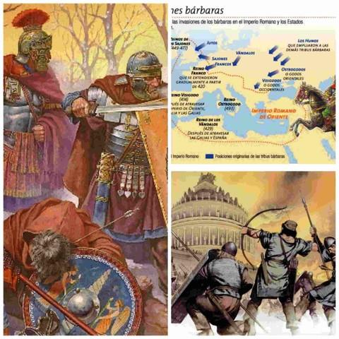 Invasiones bárbaras.