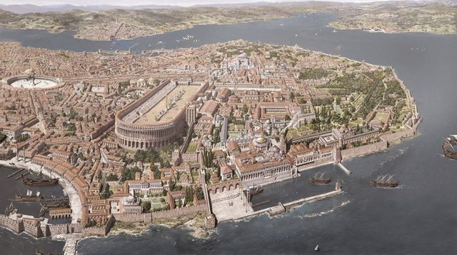 Constantinopla es nombrada la nueva Roma.