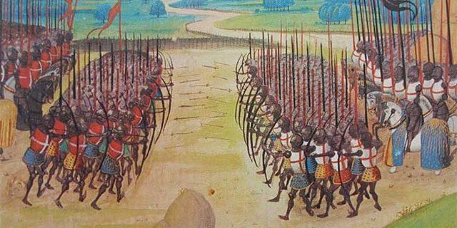 La guerra de los cien años comienza.