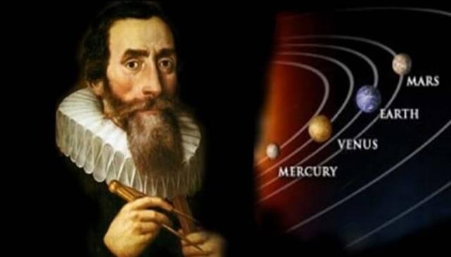 Johanes Kepler descubre las leyes del movimiento de los planetas.