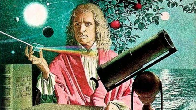 Newton: Principio de la gravitación universal.