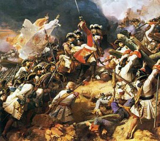 Guerra de sucesión española.