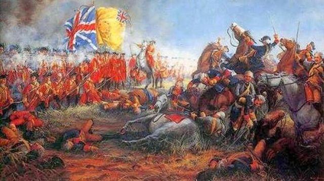 Guerra de los siete años. (Inglaterra y Francia)