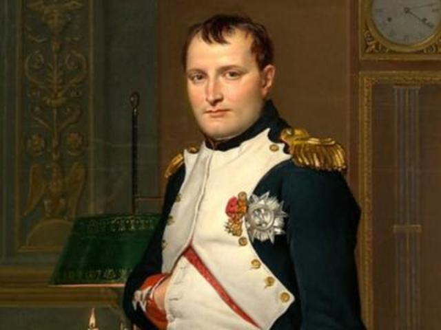 Napoleón Bonaparte sube al poder.