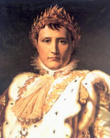 Napoleón es coronado emperador.