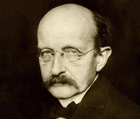 Max Planck crea la Física Cuantica para explicar ciertos fenómenos físicos.