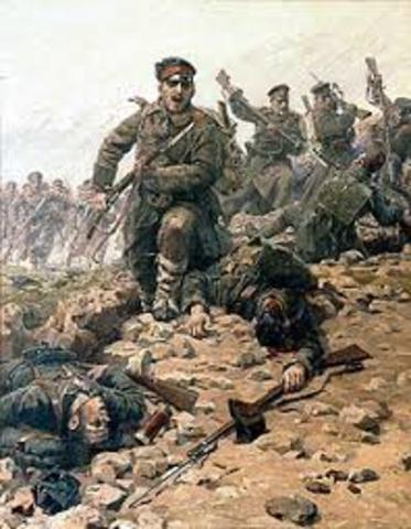 Primera guerra de los balcanes