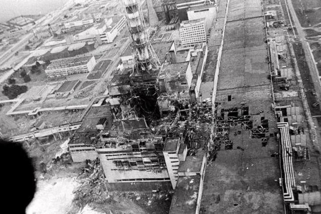 Desastre Nuclear en Chernobyl (Ucrania)