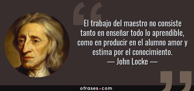 Tabula Rasa: John Locke