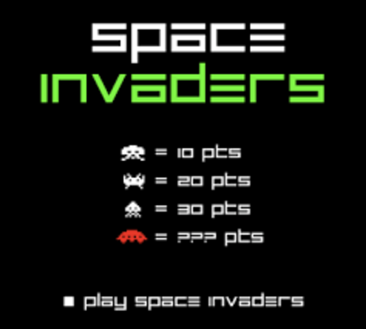SPACE INVADERS ('MARCIANITOS')