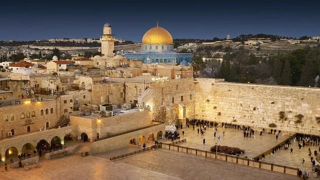 O Cavaleiro em Jerusalém.