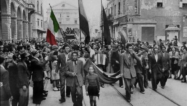 LA LIBERAZIONE DELL'ITALIA