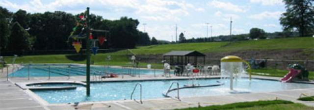 Benjamin Riegel Memorial Pool opened