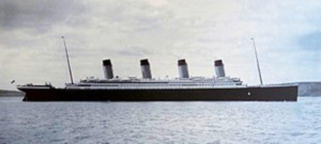 Titanicu uppumine
