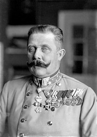 Prints Franz Ferdinandi surm